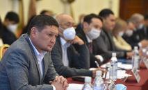 Финансы полициясынын төрагасы Сыймык Жапыкеев. Архивдик сүрөт