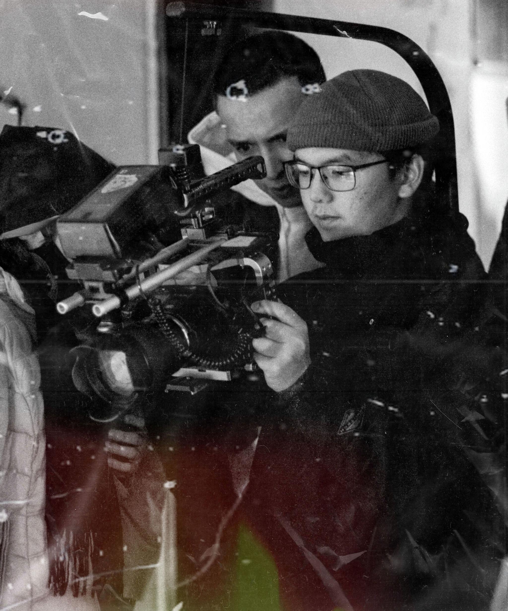 Молодой режиссер Каныбек Калматов, участвовавший во многих международных кинофестивалях