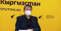 Начальник отдела обеспечения контроля и приемки работ Департамента дорожного хозяйства при Министерстве транспорта и дорог Акылбек Мусабаев