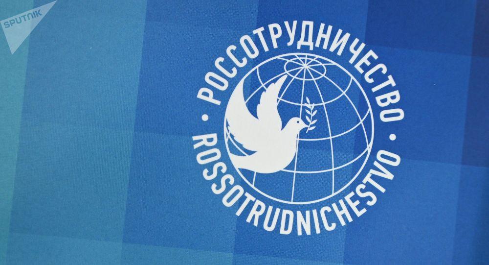 Логотип Россотрудничества. Архивное фото