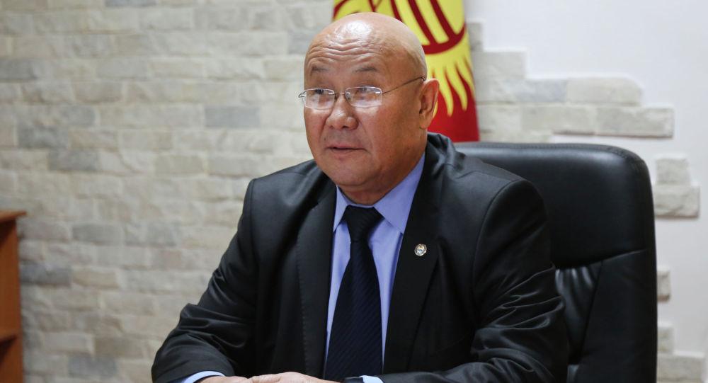 Секретарь Совета безопасности Кыргызской Республики Рыскелди Мусаев