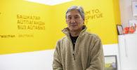 Режиссер и сценарист Талант Жумабаев в офисе Sputnik Кыргызстан
