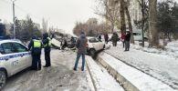 ДТП на улице Жукеева-Пудовкина