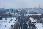В Бишкеке формально еще осень, но фактически началась зима. Мы сняли, как выглядит центр столицы.