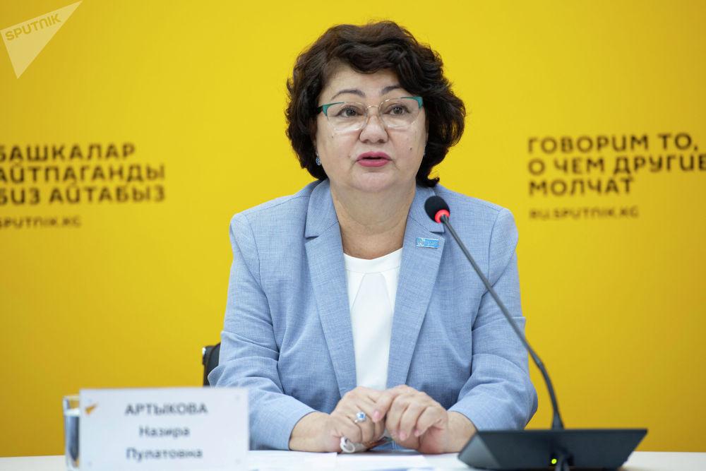 Представитель Всемирной организации здравоохранения в Кыргызстане Назира Артыкова