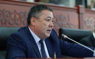 Депутат Жогорку Кенеша Улугбек Ормонов. Архивное фото