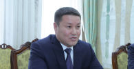 Президенттин милдетин аткаруучу Талант Мамытов. Архивдик сүрөт