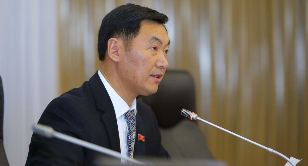 Депутат Эмиль Токтошев. Архивное фото