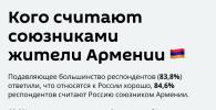 На фоне заключения перемирия между Азербайджаном и Армений, радио Sputnik опросило армян, как они относятся к России.