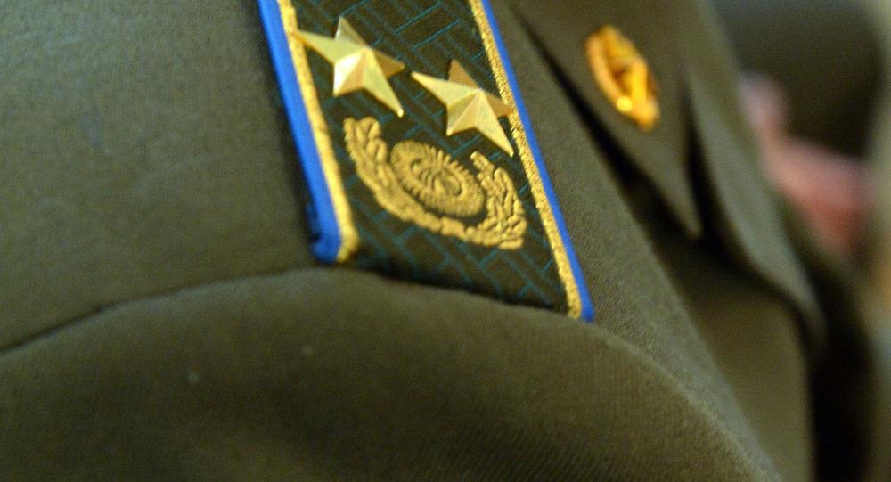 Шеврон сотрудника ГКНБ. Архивное фото