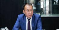 Мамлекеттик каттоо кызматынын төрагасынын орун басары Тилек Джеембаев