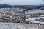 Вид на город Чита с Титовской сопки. Архивное фото