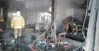 Новопавловка айылындагы өрт