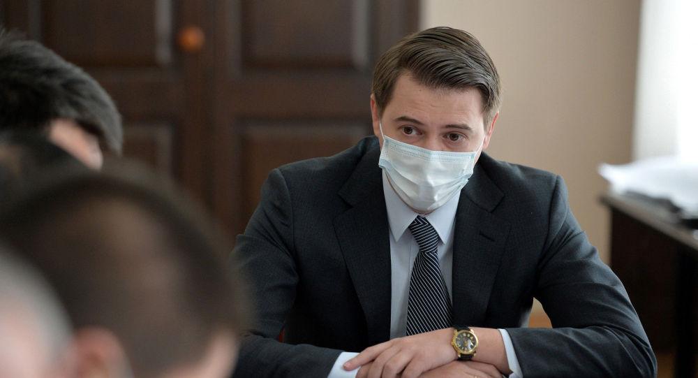 Исполняющий обязанности премьер-министра КР Артем Новиков