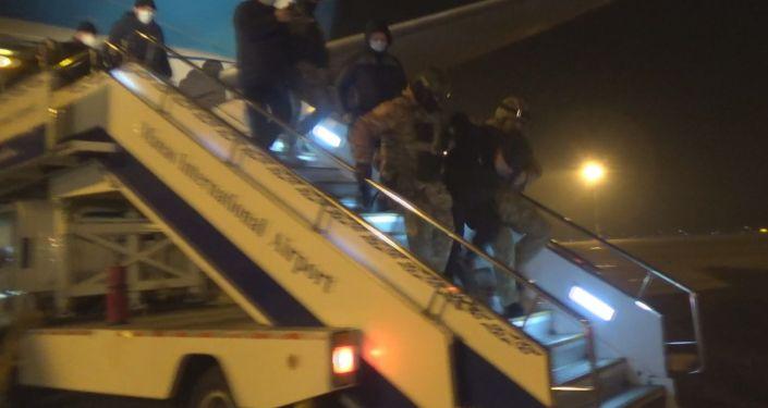 На территории аэропорта Манас задержан член организованной преступной группировки Э. М. по прозвищу Чач