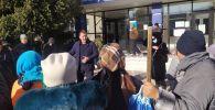 Караколдо шаарындагы митинг