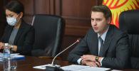 Премьер-министрдин милдетин аткаруучу Артем Новиков