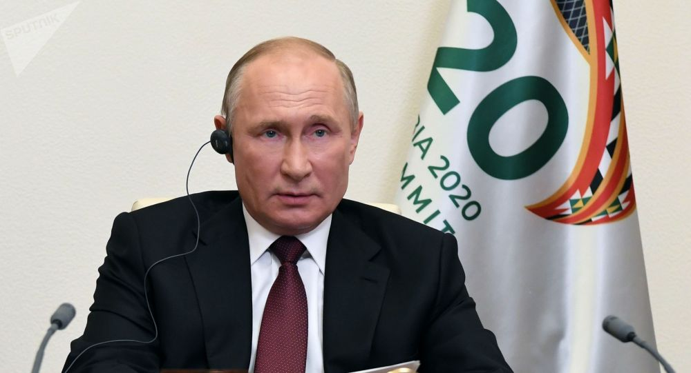Президент РФ Владимир Путин принимает участие в работе саммита Группы двадцати