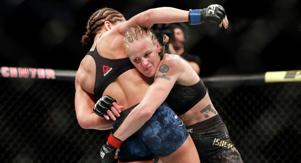 Чемпион UFC Валентина Шевченко. Архивное фото