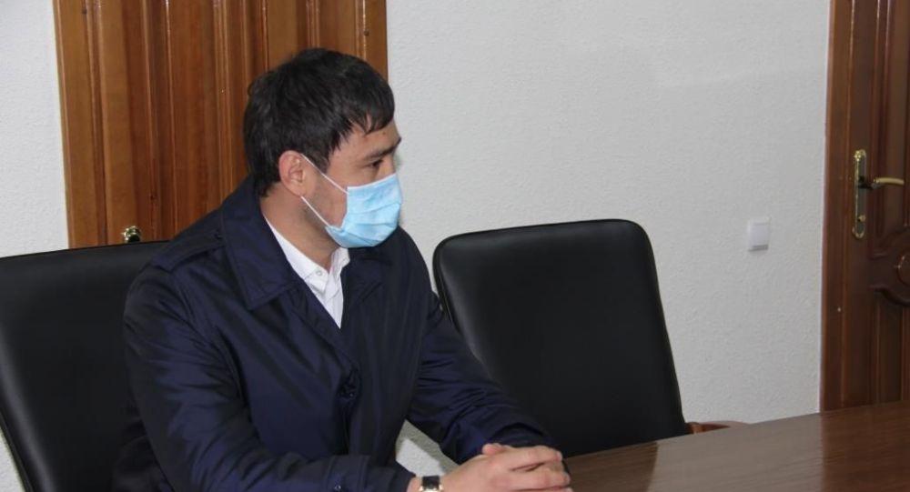 Глава Савайского айыл окмоту Мунарбек Сайпидинов. Архивное фото