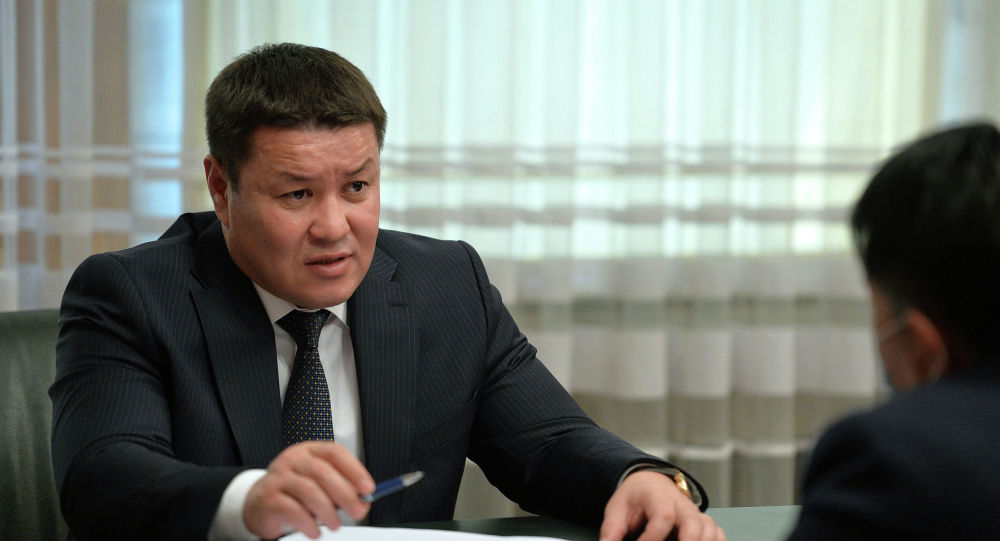 И.о. президента КР, торага ЖК Талант Мамытов