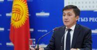Глава Социального фонда КР Медер Ирсалиев. Архивное фото