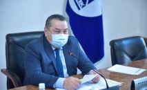 Бишкек шаарынын мэринин милдетин аткаруучу Балбак Түлөбаев