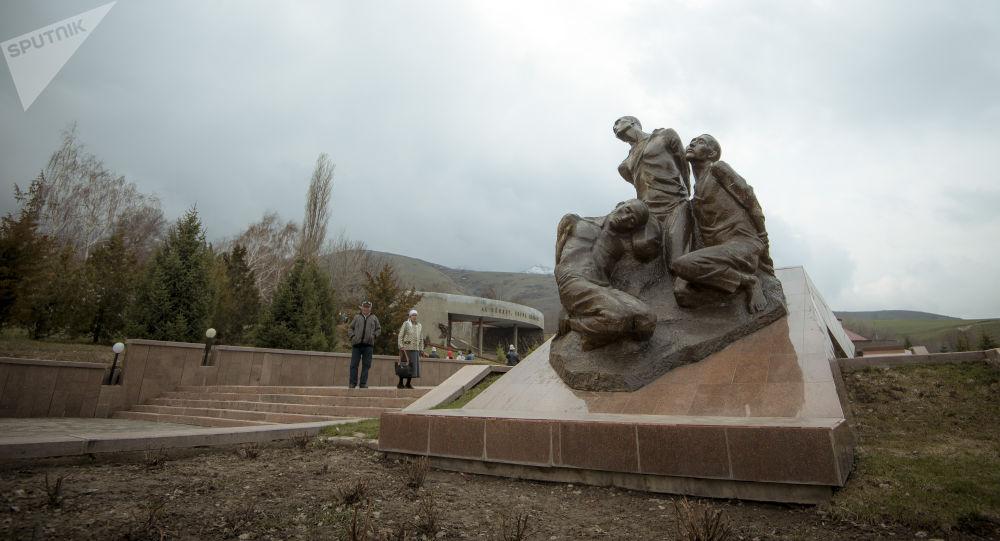 Мемориальный комплекс Ата-Бейит в селе Чон-Таш