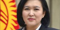 Министр труда и социального развития Ализа Солтонбекова