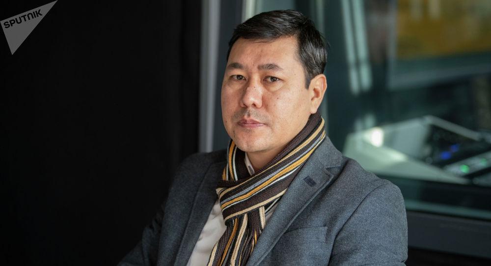 Жергиликтүү өз алдынча башкаруулар союзунун төрагасынын орун басары Бектурган Орозбаев