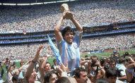 Аргентиналык футболчу Диего Марадона. Архив