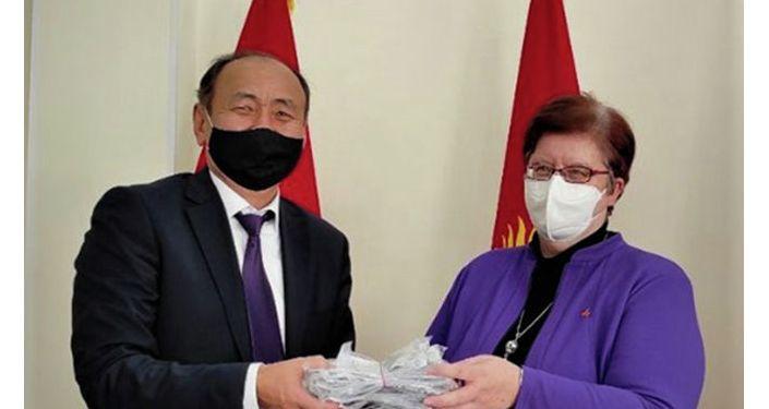 В Кыргызстан прибыла группа врачей-экспертов из Германии
