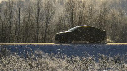 Автомобиль на трассе. Архивное фото