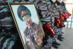 Церемония прощания с ветераном органов внутренних дел Жолдошбеком Бузурманкуловым, 11 лет возглавлявшим пресс-службу МВД Кыргызстана