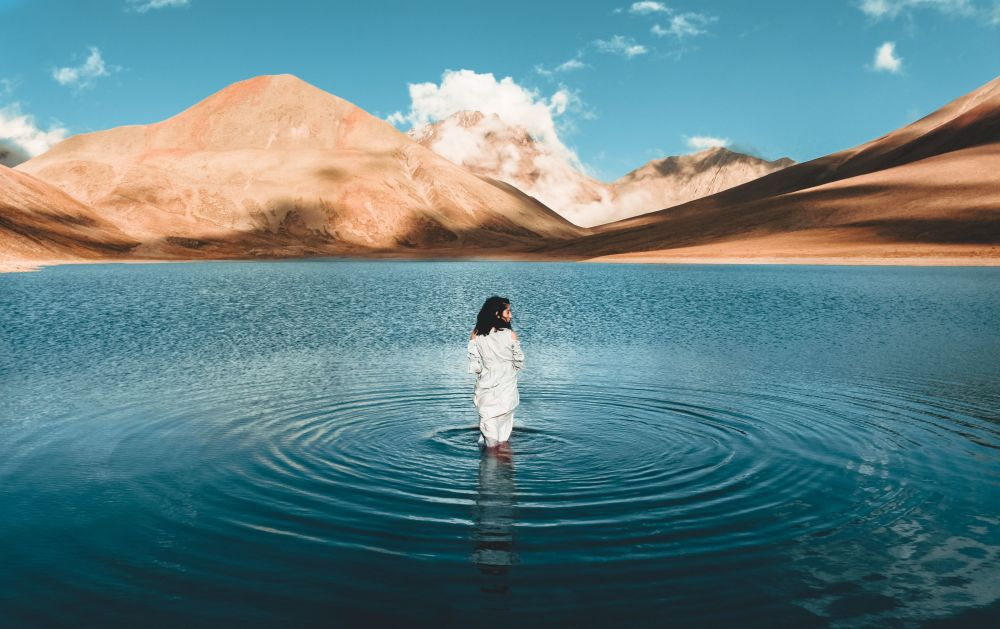 Снимок Kelitsadi Lake грузинского фотографа Nika Pailodze, ставший финалистом конкурса