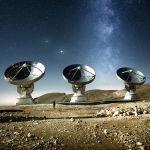 Француз Mathēo запечатлел огромные радиотелескопы и небо над ними