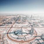 Снимок Зима в Нур-Султане российского фотографа Андрея Пугача
