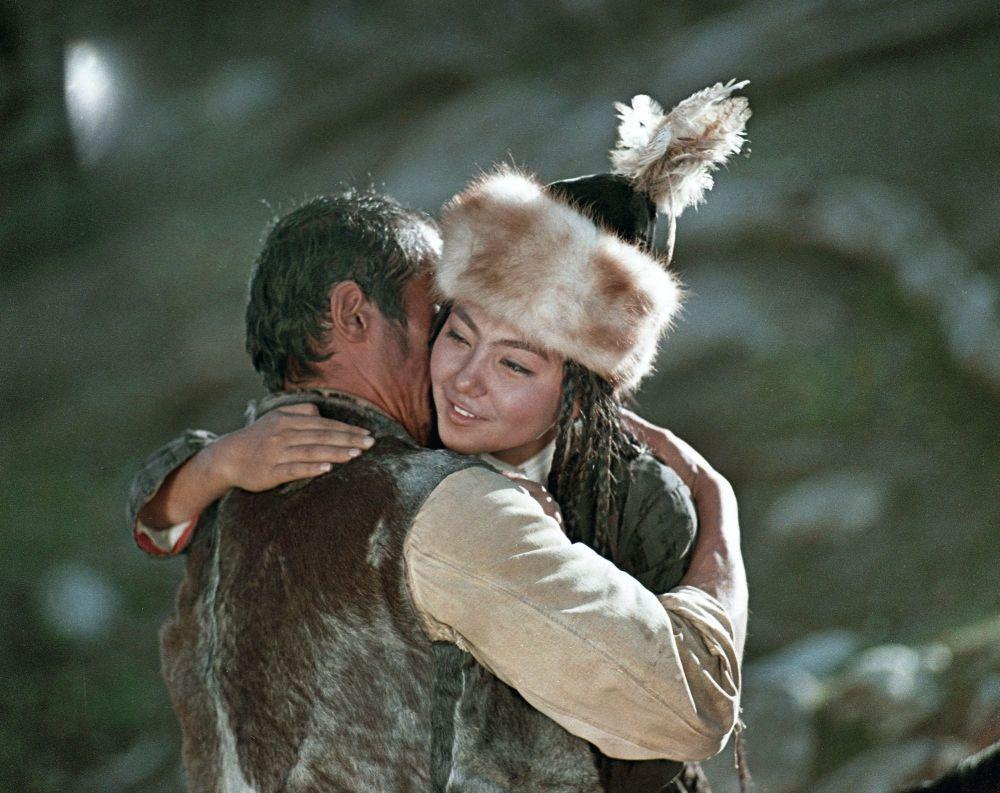 Каличанын образындагы актриса Айтурган Темирова