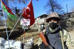 Карабахтагы азербайджандык аскер Гадруттагы блокпостто. Архивдик сүрөт