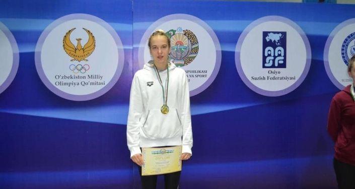 Кыргызстанские пловцы завоевали три золотые медали и одно серебро на международных соревнования на Кубок Узбекистана