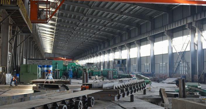Завод по производству и переработке основных металлов и готовых изделий в городе Каинды