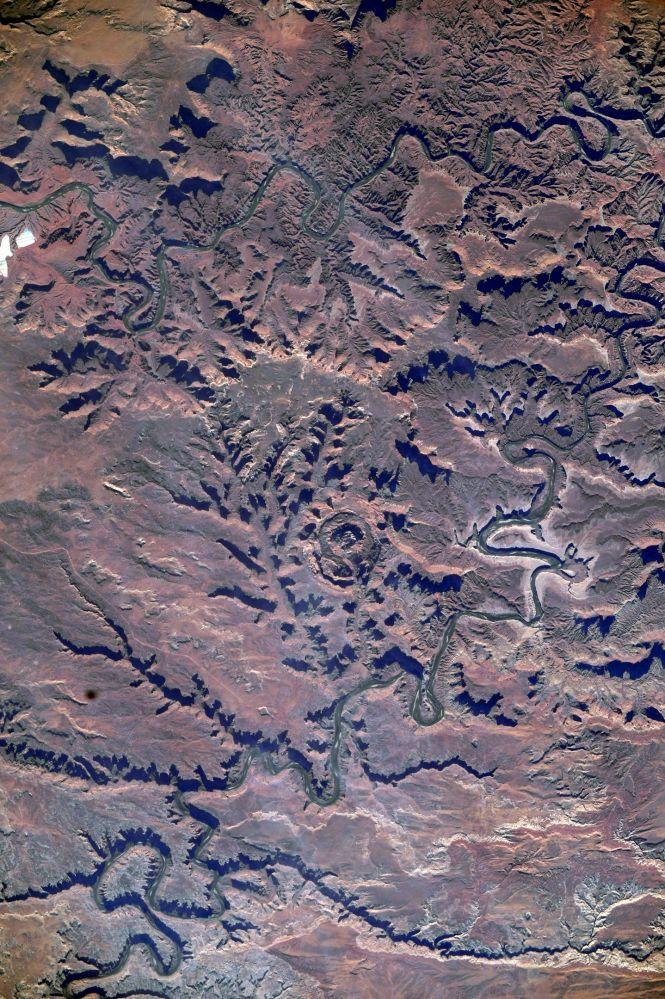 Вид на парк Мертвой лошади в штате Юта (США)