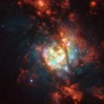 Тысячи новых звезд в галактике NGC 5236