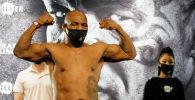 Кесипкөй бокс боюнча дүйнөнүн мурдагы абсолюттук чемпиону Майк Тайсон. Архив