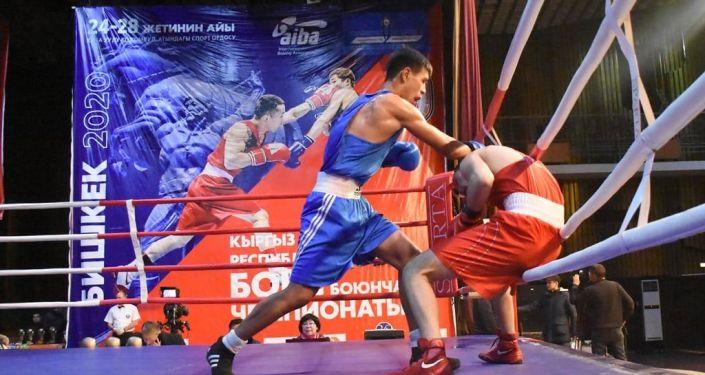 Бишкекте бокс боюнча өлкө чемпионаты аяктаганын Жаштар иши, дене тарбия жана спорт агенттиги кабарлады