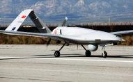 Дрон Bayraktar TB2 турецкого производства на военной авиабазе Гечиткале. Архивное фото