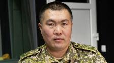Өрт өчүрүү жана алдын алуу башкармалыгынын башчысынын орун басары майор Азиз Бейшекеев. Архивдик сүрөт