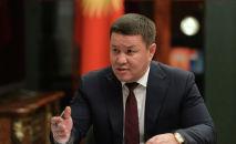 Кыргызстандын президентинин милдетин аткарып жаткан жана ЖКнын спикери Талант Мамытов