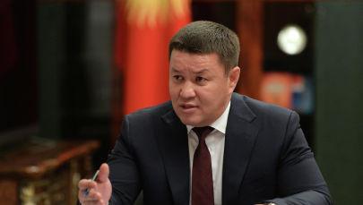 Исполняющий обязанности президента Кыргызстана, торага Жогорку Кенеша Талант Мамытов