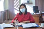 Бишкектин вице-мэри Айжан Чыныбаева. Архивдик сүрөт